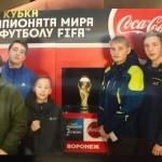 Юные спортсмены ФК «Ника-Ураган» вне очереди «прикоснулись» к легендарному футбольному трофею