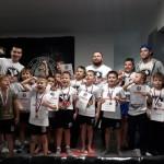 В Семилуках состоялся масштабный турнир среди детей по тайскому боксу «Здоровый малыш»