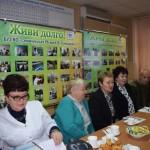 В Семилукской ЦРБ состоялся круглый стол председателей Советов ветеранов  района, СОЗа и ЦРБ