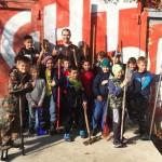 Воспитанники Академии боевых единоборств «FIGHTBAZA» провели осенний субботник