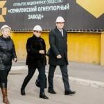 Руководитель департамента промышленности и транспорта Александр Десятириков оценил уровень развития ООО «НИКА-ПЕТРОТЭК»