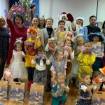 В преддверии Нового года сотрудники «НИКА-ПЕТРОТЭК» побывали у детей Семилукского социально-реабилитационного центра