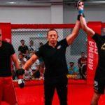 Спортсмен FIGHT BAZA досрочно выиграл бой на первом этапе Открытой лиги Черноземья