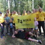 Сотрудники «Ника-Петротэк» поучаствовали в легкоатлетическом забеге на День физкультурника